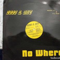 "Discos de vinilo: 2000 & ONE - NOWHERE (12"") 1990. SELLO:LOWER EAST SIDE RECORDS CAT. Nº: LES 009. MUY BUEN ESTADO. Lote 211506199"