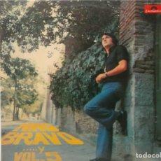 Discos de vinilo: NINO BRAVO-...Y VOL 5-ORIGINAL AÑO 1973. Lote 211506932
