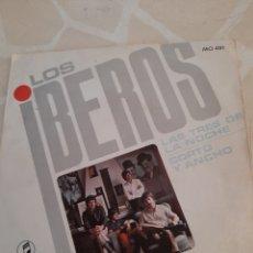 Discos de vinilo: LOS IBEROS. LAS TRES DE LA NOCHE.. Lote 211507037
