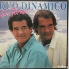 Discos de vinilo: DUO DINAMICO-EN FORMA-CONTIENE ENCARTE-INCLUYE LA CANCION RESISTIRE. Lote 211507255