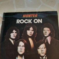 Discos de vinilo: HUNTER. ROCK ON.. Lote 211508135