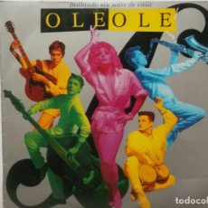 Discos de vinilo: OLE OLE-BAILANDO SIN SALIR DE CASA. Lote 211508250