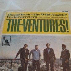 Discos de vinilo: THE VENTURES . POR LA CARRETERA.. Lote 211508839