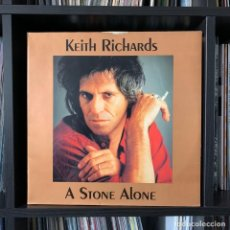 Discos de vinilo: KEITH RICHARDS ‎– A STONE ALONE - THE SWINGIN' PIG ‎– TSP 085-2 (2 LP). Lote 211509144