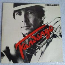 Discos de vinilo: HERB ALBERT SINGLE VINILO 45 RPM DISCO FANDANGO 1982. Lote 211510200