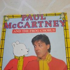 Discos de vinilo: PAUL MCCARTNEY. AND THE FROG CHORUS.. Lote 211510989