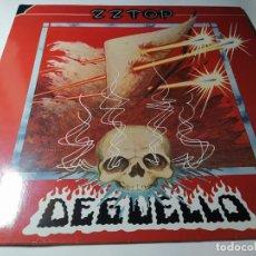 Discos de vinilo: LP - ZZ TOP – DEGÜELLO - WB 56 701 (VG+ / VG+) EURO REISSUE AÑOS 80. Lote 211511319