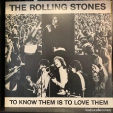 Discos de vinilo: THE ROLLING STONES - TO KNOW THEM IS TO LOVE THEM (ALBINO) LP. Lote 211511362