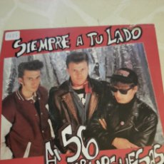 Discos de vinilo: 56 HAMBURGUESAS. SIEMPRE A TU LADO. PROMOCIONAL.. Lote 211511441