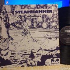 Discos de vinilo: STEAMHAMMER MOUNTAINS METRONOME 1977 ALEMANIA MAGNIFICO PROG. Lote 211512201