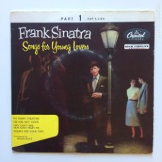 Discos de vinilo: FRANK SINATRA – SONGS FOR YOUNG LOVERS (PART 1) DENMARK 1955 CAPITOL RECORDS. Lote 211512489