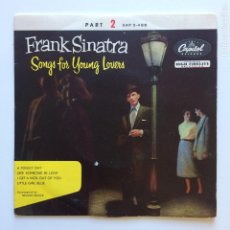 Discos de vinilo: FRANK SINATRA – SONGS FOR YOUNG LOVERS (PART 2) DENMARK CAPITOL RECORDS. Lote 211512705