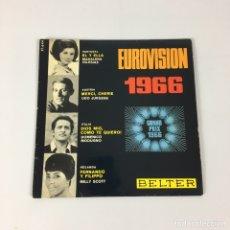 "Discos de vinilo: EP 7"" - EUROVISION 1966 - DOMENICO MODUGNO, MADALENA IGLESIAS, UDO JURGENS, MILLY SCOTT. Lote 211515366"