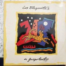 Discos de vinilo: LOS ELEGANTES - A FUEGO LENTO (LP, ALBUM) SELLO:DRO, DRO CAT. Nº: 4D0854 01, 4D0854.VINILO NUEVO. Lote 211517005