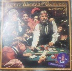 Discos de vinilo: CANTAUTOR Y ACTOR ESTADOUNIDENSE - KENNY ROGERS THE GAMBLER - EL JUGADOR - 1979. Lote 211517409