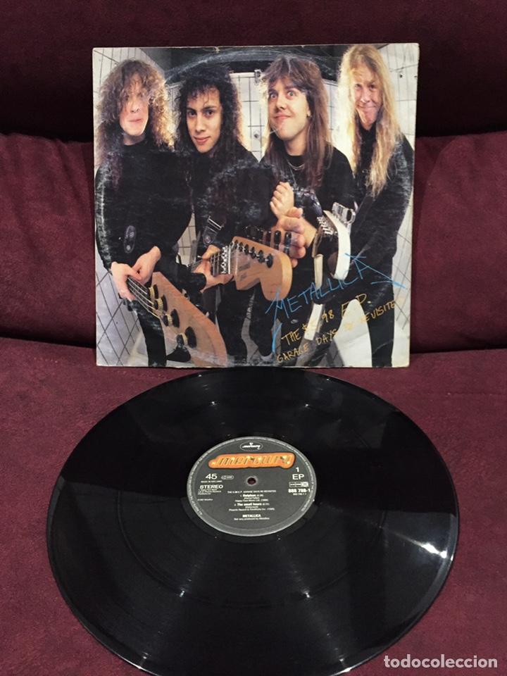METALLICA - THE 5.98 E.P. GARAGE DAYS RE-REVISTED EP (Música - Discos de Vinilo - EPs - Heavy - Metal)