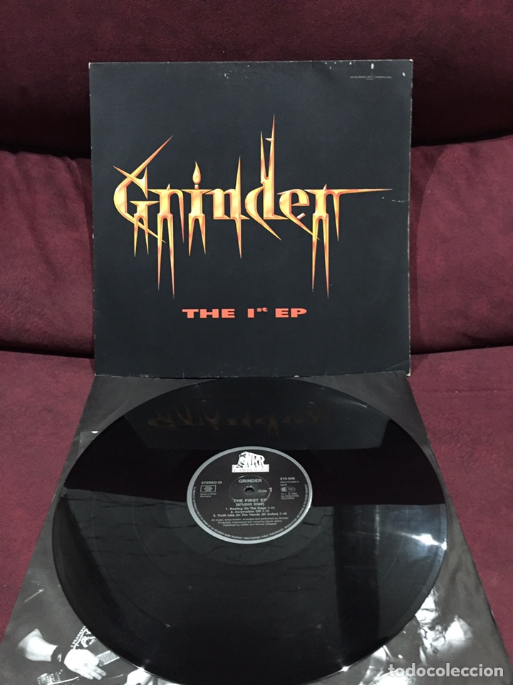 GRINDER - THE FIRST EP - EP (Música - Discos de Vinilo - EPs - Heavy - Metal	)