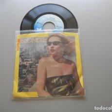 Discos de vinilo: BLONDIE – RAPTURE SINGLE 1981 - VG++/VG+ USA EDITION. Lote 211524122