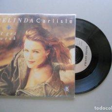 Discos de vinilo: BELINDA CARLISLE I GET WEAK - SINGLE 1988 VG++/VG++ PORTADA DESPLEGABLE EN POSTERS POR AMBAS CARAS. Lote 211524287