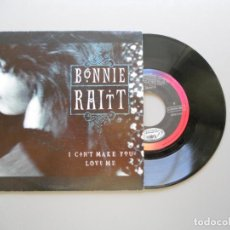 Discos de vinilo: BONNIE RAITT – I CAN'T MAKE YOU LOVE ME SINGLE PROMO 1991 NM/VG++. Lote 211524360