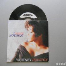 Discos de vinilo: WHITNEY HOUSTON – I HAVE NOTHING - SINGLE 1993 VG++/VG++. Lote 211524565