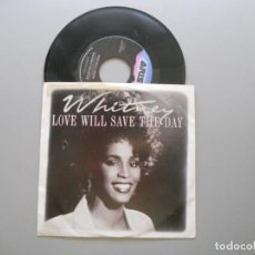 Discos de vinilo: WHITNEY HOUSTON – LOVE WILL SAVE THE DAY - SINGLE USA 1988 VG+/VG++. Lote 211524600