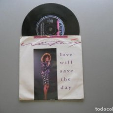 Discos de vinilo: WHITNEY HOUSTON – LOVE WILL SAVE THE DAY SINGLE ED. UK SPECIAL EDITION VG+/VG+. Lote 211524760