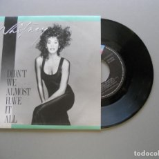 Discos de vinilo: WHITNEY HOUSTON ‎– DIDN'T WE ALMOST HAVE IT ALL - SINGLE 1987 EX/NM. Lote 211525275