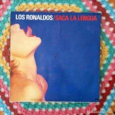 Discos de vinilo: LP VINILO - SACA LA LENGUA - LOS RONALDOS. Lote 211527912