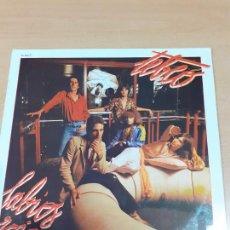 Discos de vinilo: DISCO VINILO TEBEO - LP LABIOS ROJOS - BUEN ESTADO GENERAL -VER FOTOS. Lote 211529736