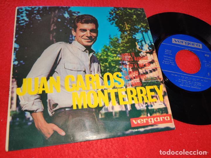 JUAN CARLOS MONTERREY AHORA TE PUEDES MARCHAR/YO SOY EL QUE SOY/LA BAMBA +1 EP 1964 VERGARA (Música - Discos de Vinilo - EPs - Solistas Españoles de los 50 y 60)