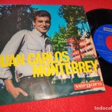 Discos de vinilo: JUAN CARLOS MONTERREY AHORA TE PUEDES MARCHAR/YO SOY EL QUE SOY/LA BAMBA +1 EP 1964 VERGARA. Lote 211529824