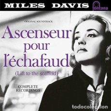 Discos de vinilo: MILES DAVIS - ASCENSEUR POUR L'ECHAFAUD - (VINILO NUEVO). Lote 211536070
