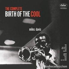 Discos de vinilo: MILES DAVIS - BIRTH OF THE COOL (2 LP) - (VINILO NUEVO). Lote 211537399