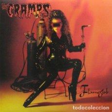 Discos de vinilo: CRAMPS (THE) - FLAMEJOB (VINILE ROSSO OPACO 150GR) - (VINILO NUEVO). Lote 211541300