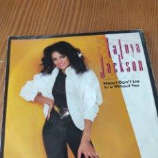 Discos de vinilo: DISCO VINILO SINGLE LA TOYA JACKSON. Lote 211552864