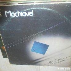Discos de vinilo: MACHIAVEL - NEW LINES . LP . 1981 HARVEST. Lote 211557182