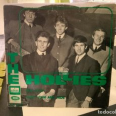 Discos de vinilo: THE HOLLIES - BUS STOP / DON´T RUN HIDE SINGLE ORIGINAL ESPAÑOL - EMI-ODEON 1966 MONOAURAL. Lote 211557474
