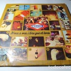 Discos de vinilo: LP - ORQUESTRA MIRASOL – D'OCA A OCA I TIRA QUE ET TOCA -UM-2020 LP - CARPETA - 2LP (VG / VG) 1975. Lote 211559227