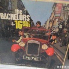 Discos de vinilo: DISCO LP THE BACHELORS + 16 GREAT SONGS. Lote 211559240