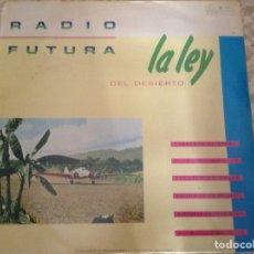 Discos de vinilo: RADIO FUTURA - LA LEY DEL DESIERTO LA LEY DEL MAR - VINILO LP 1984. Lote 211559467
