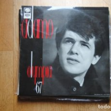 Discos de vinilo: ADAMO OLYMPIA 67. EMI LA VOZ DE SU AMO 1967. LP SPAIN. Lote 211560834