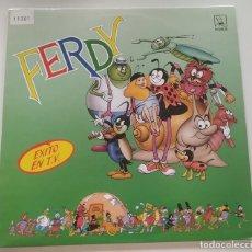 Discos de vinilo: FERDY CANCIONES DE LA SERIE DE TV 1989 LP VINILO INFANTIL HORUS GWENDOLINE. Lote 211562426