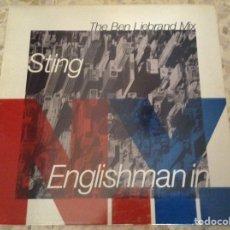 Discos de vinilo: STING - THE BEN LIEBRAND MIX - MAXI SINGLE 45RPM 1990. Lote 211563066