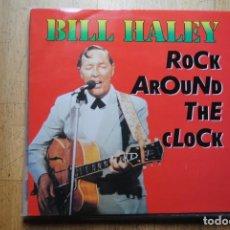 Discos de vinilo: BILL HALEY ROCK AROUND THE CLOCK. LP 1987. NUEVO. Lote 211564151
