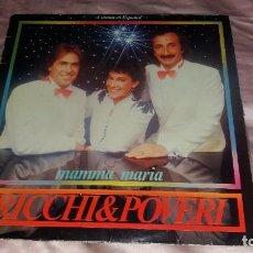 Discos de vinilo: RICCHI & POVERI - LP SPAIN (CANTA ESPAÑOL )- VER FOTOS. Lote 211564364