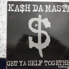 """Discos de vinilo: KASH DA MASTA - GET YA SELF TOGETHER (12"""") 1990.SELLO:BIG ONE RECORDS CAT. Nº: VVBIG 26.VINILO NUEVO. Lote 211568370"""