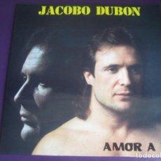 Discos de vinilo: JACOBO DUBON LP RECORD 83 1990 - AMOR A TI - POP ROCK 80'S 90'S - VERSIONES CLASICOS - SIN ESTRENAR. Lote 211572945