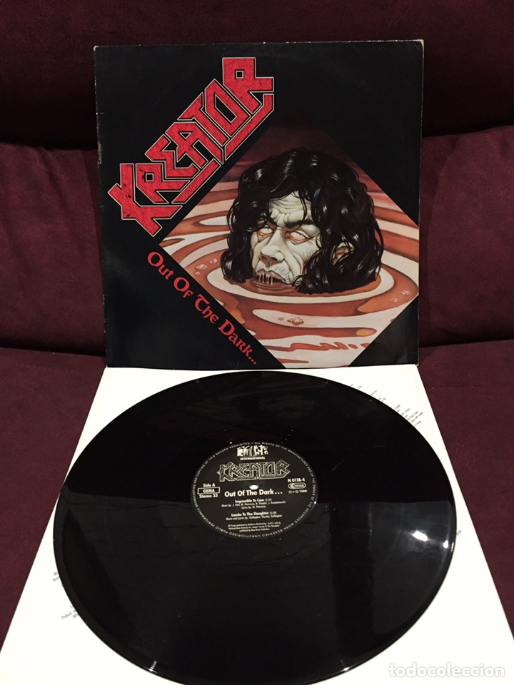 KREATOR - OUT OF THE DARK... INTO THE LIGHT EP (Música - Discos de Vinilo - EPs - Heavy - Metal	)