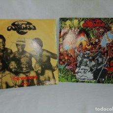 Discos de vinilo: LOTE 2 SINGLES OSIBISA AÑOS 80 SPAIN, BUEN ESTADO DE USO VER MAS INFORMACIÓN. Lote 211576957
